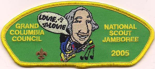 Wood Badge CSP Grand Columbia Council 2 beads